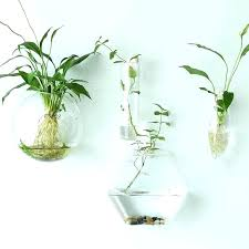 wall mounted vases wall pocket planters glass wall vases for flowers glass pocket wall sconce vases