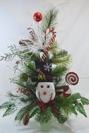 Cemetery Christmas Tree With Lights No C1110 Holiday Christmas Tree Cemetery Cone Vase