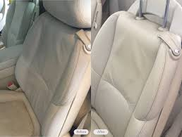 leather seat re dye in car