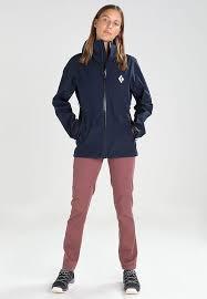 black diamond liquid point shell update dark blue rain outdoor jackets for women