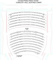 Segerstrom Hall Seating Chart Pdf Seating Charts