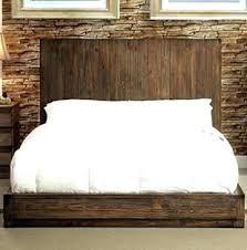 Low Profile King Platform Bed Flat Platform Bed Frame Queen Modern ...