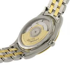 longines flagship mens bicolour bracelet watch luxury watches longines flagship mens bicolour bracelet watch