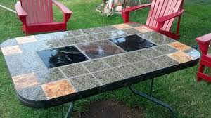 Curbside Table Turned Farm Table  Mismatched Chairs Paint Stain Redoing Outdoor Furniture