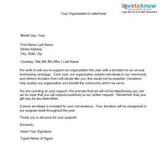 Solicitation Letter Fundraising Solicitation Letter Template Samples Of Non Profit