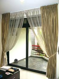 sliding door covering ideas best sliding door curtains ideas on slider for glass fancy curtains for