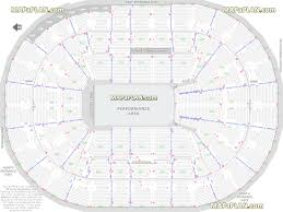 Pbr Moda Center Seating Chart Moda Center Rose Garden Arena Performance Area For Shows