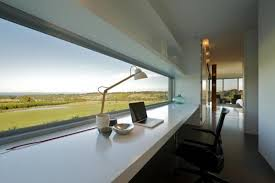 home office design cool office space. Modern Home Office With Great View Design Cool Space