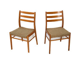 4 danish modern dining chairs 70s by hearthsidehome on etsy