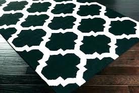 black area rugs 8x10 black area rugs and white chevron rug s dark gray black area