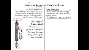 Design Vs Engineering Engineering Science Vs Engineering Design