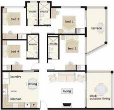 4 Bedroom House Plans Philippines Awesome Four Bedroom Bungalow House Plans  Internetunblock Of 4 Bedroom House