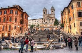 Von der piazza de spagna zur trinità dei monti. Ferienwohnungen In Rom Apartment Rom Wohnung Rom Urlaub Reise Rom