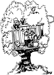 Coloring Pages Ideas Splendi Tree House Coloring Pages Image Ideas