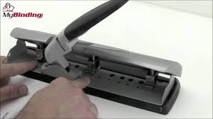 Swingline Light Touch 2 To 7 Hole Adjustable Punch Swingline Lighttouch Desktop Hole Punch Demo Swi 74014