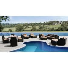 Niko 10piece Modular Seating Set By Sirio™  Outdoor Furniture Niko Outdoor Furniture