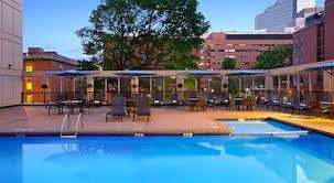hotel outdoor pool. Wyndham Hotel Boston Outdoor Swimming Pool On Roof Deck
