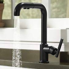 item 2 kohler purist k 7505 bl matte black primary pullout kitchen faucet kohler purist k 7505 bl matte black primary pullout kitchen faucet