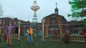 my ohio ge nela park turns on its annual holiday lighting display featuring 500 000 individual lig you