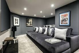 sparkling dark gray decorating ideas home theater grey living room blue walls