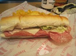 Jimmy Johns Provolone Nutrition