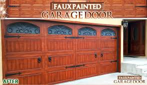 how much to paint a garage door faux painted garage door can you paint a metal