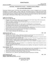 major account manager resume