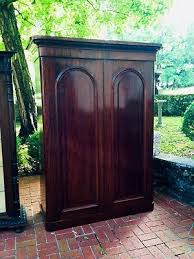 english antique armoire antique. English Figured Mahogany Armoire With Fitted Interior Antique