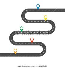 Vector Images Illustrations And Cliparts Simple Winding Road With