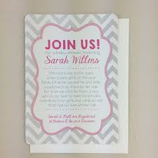 Do It Yourself Baby Shower Invitation Templates Pink And Grey Chevron Baby Shower Invitation With Blank Envelope Baby Shower Invitation Diy Printable Template