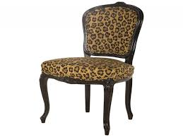 animal print dining chairs elegant vintage leopard print cafe chair at 1stdibs