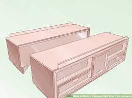 image titled build a captain s bed from two dressers step 5