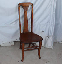 victorian office chair. Antique Quarter Sawn Oak Vanity Or Small Office Chair Victorian