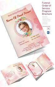 microsoft office funeral program template free funeral brochure templates online cherry blossom memorial