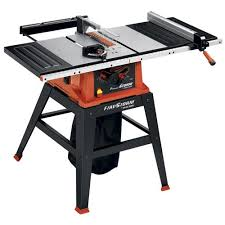 power table saw. firestorm 10 inch 15 amp table saw with stand - fs210ls power