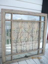 old window wall hanging plain decoration window frame wall art decor rustic shabby old chic window old window wall