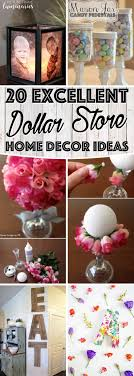 You won't believe, but these 20 DIY dollar store home decor ideas are  simply fantastic. Make your inexpensive items and see how people will line  up at your ...