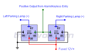 illuminated entry and light flash relay diagrams Wiring A Relay For Lights 2 wire light flash relay diagram, positive output wiring a relay for fog lights