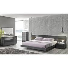 Silver Bedroom Furniture Sets Brilliant Global Furniture Lexi 5 Piece Bedroom Set In Silver Line