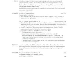 Cosmetology Resumes Template Impressive Cosmetology Resumes Cosmetology Instructor Resume Template