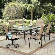 hampton bay belleville 7 piece padded sling outdoor dining set bay 7 piece patio dining set