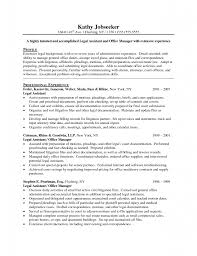 Download Secretary Objective For Resume Examples ...
