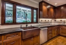 Copper Kitchen Sink Faucet Kitchen Antique Copper Sink Kitchen Design With Brown Single
