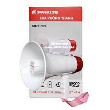 Loa phóng thanh cầm tay mini Sunrise SH7S MP3 có sạc điện
