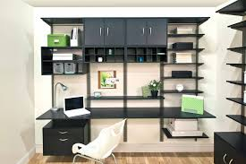 office in a closet. FreedomRail Midnight Live Office Closet In A
