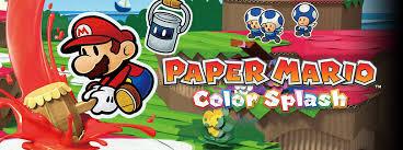 review paper mario color splash pure