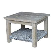 whitewash outdoor furniture. kubu whitewash side table outdoor furniture o