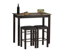 bar height table and chairs bar height dining table small kitchen table with storage 20 inch