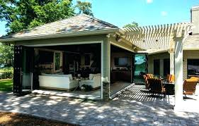 covered outdoor kitchen kits designs plans structures cabinets for luxury with patio area images of