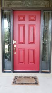 Front Doors  Coloring Pages Front Door Red Paint Color  Red - Exterior doors new orleans